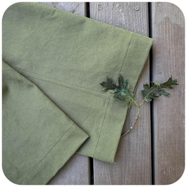 10oz Bull Denim - Olive-1/2 yard - Measure: a fabric parlor