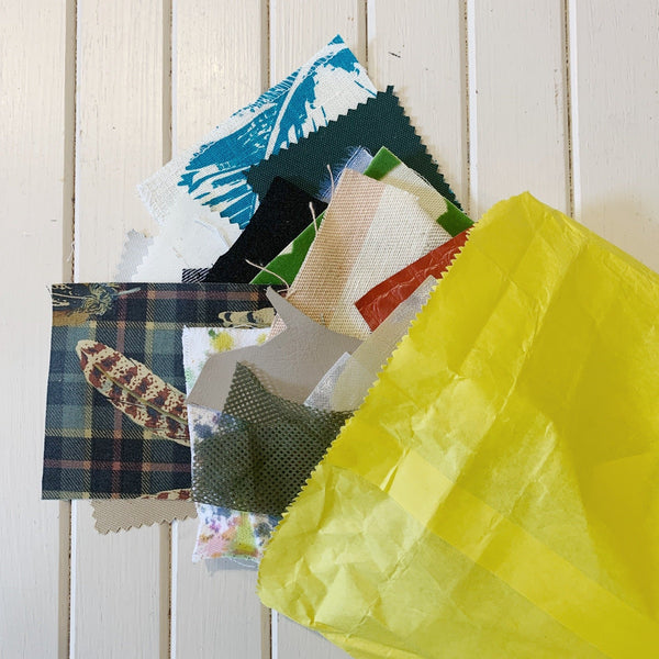 Various Snippet Baggies - 1 LB Bag - Measure: a fabric parlor