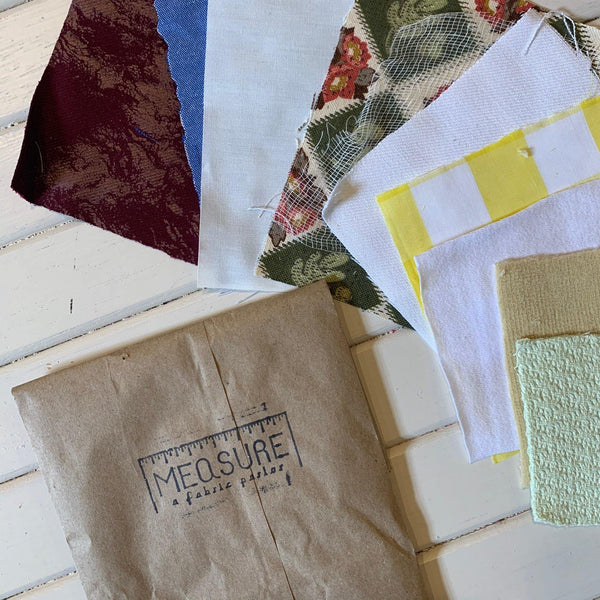 Pre-Made Textile Course Bundles - 1 Bag - Measure: a fabric parlor