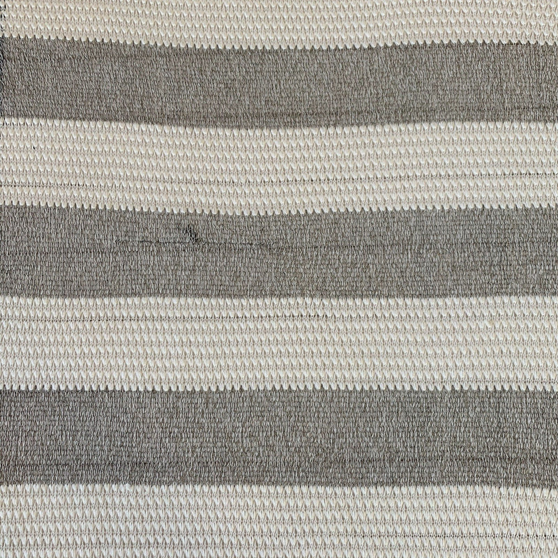 Open Weave Tonal Stripe - 1/2 Yard - Measure: a fabric parlor