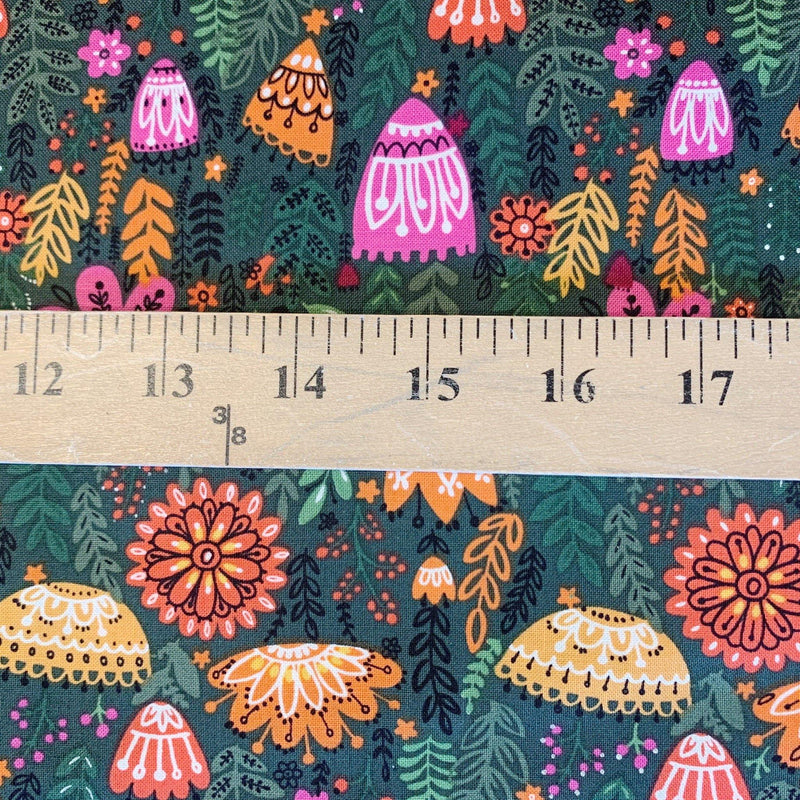 Wild Field- Fern Blossoms- 1/2 Yard - Measure: a fabric parlor