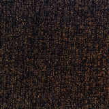 Double faced Rust and Black Boucle - 1/2 Yard - Measure: a fabric parlor