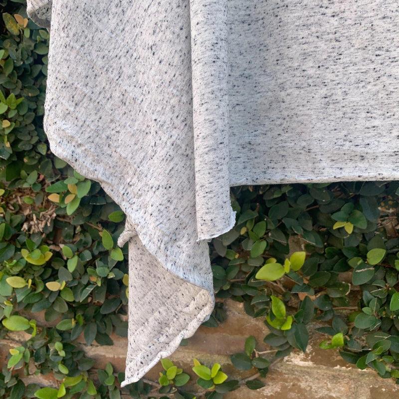 Linen Rayon Speckled Jersey Knit - 1/2 Yard