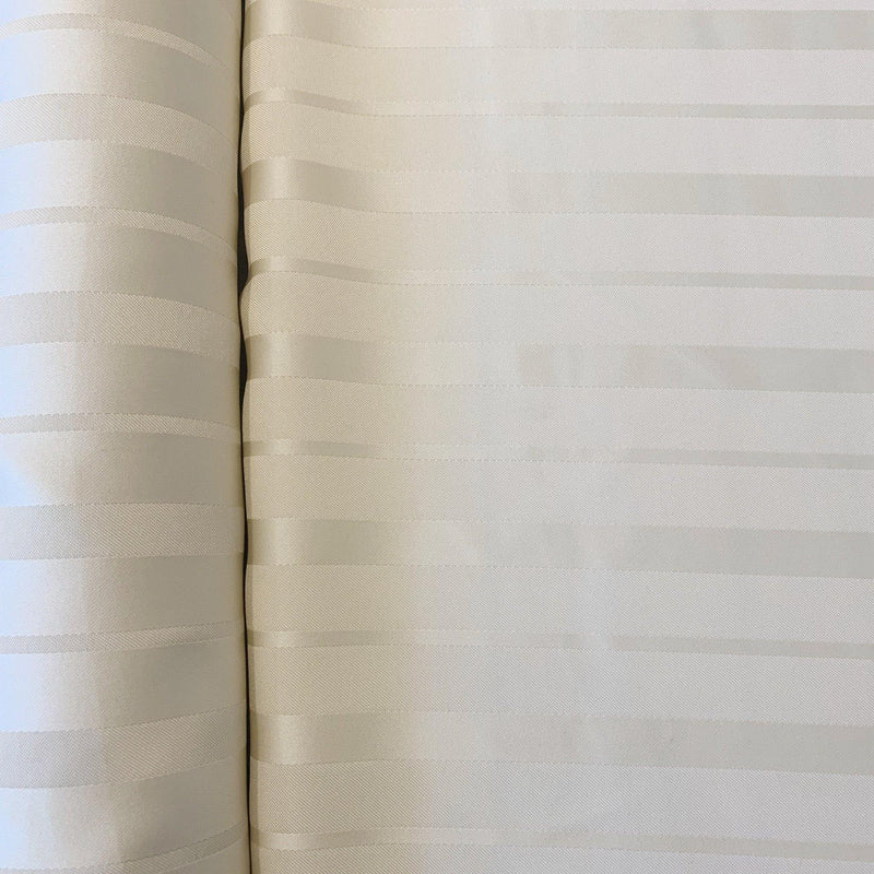 Double Satin Stripe Polyester - 1 yard