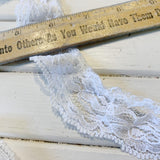 Lace Trim - White - Remnant