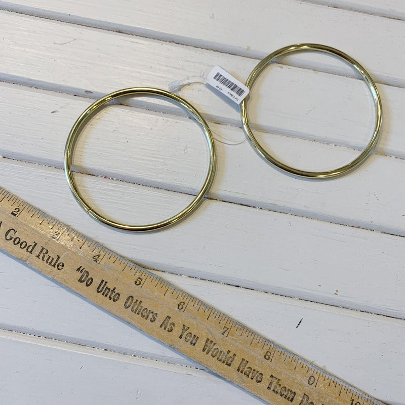 Brass Rings - Sz 3 - 2pcs - Measure: a fabric parlor