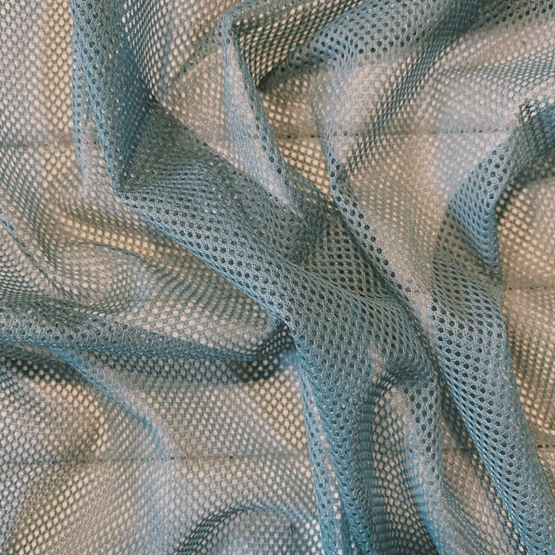 Slate Small Perforated Mesh - 2 Yards - Remnant