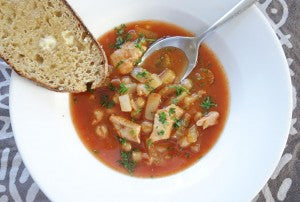 Harissa Chicken Soup