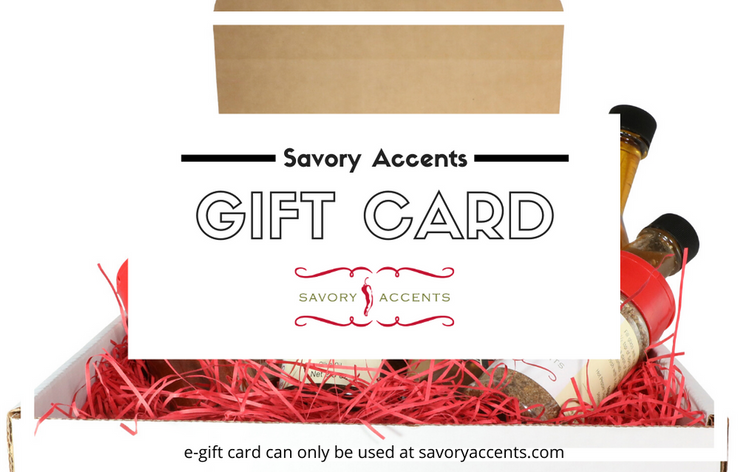Savory Accents E-Gift Card