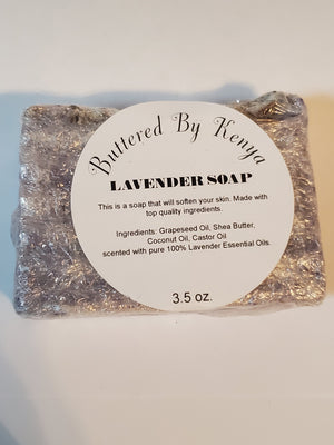 The Lavender Spa Soap - Hey Kenya