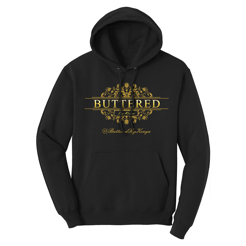 Buttered By Kenya Hoodies - Hey Kenya