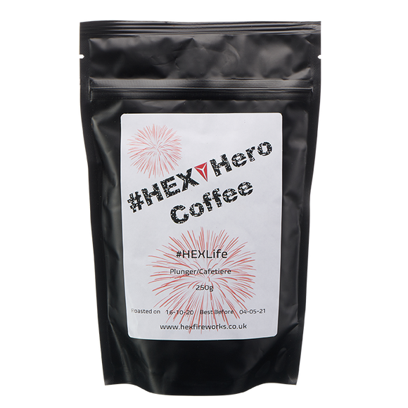 #HEXHero Coffee - #HEXLife