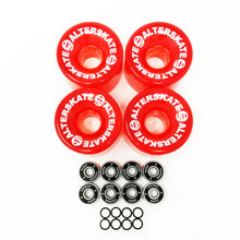 Load image into Gallery viewer, Alterskate wheels, 65mm red