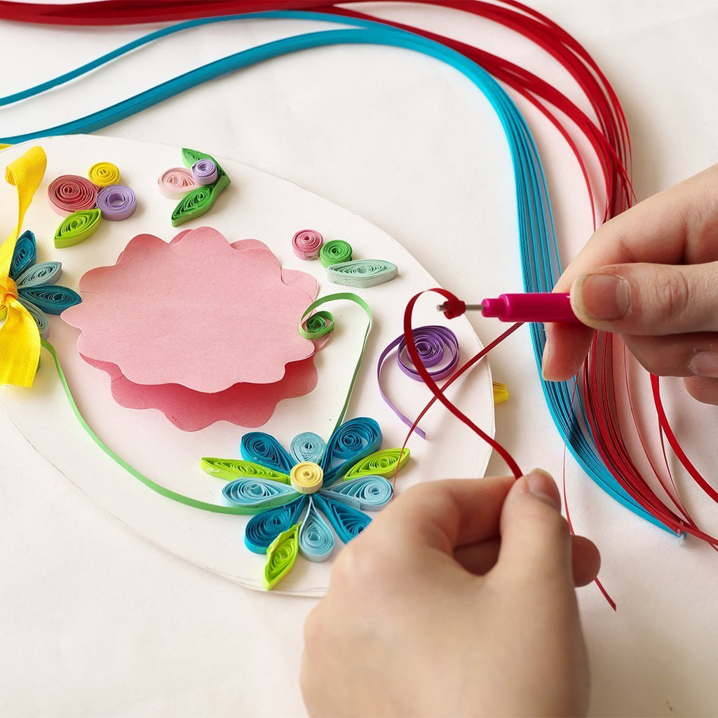 Paper Quilling Art Kit (19 pieces) - Quilling Paper