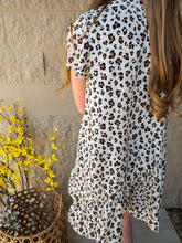 Load image into Gallery viewer, Girls Leopard Swing Dresses