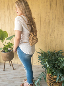 Melissa Macrame Backpacks