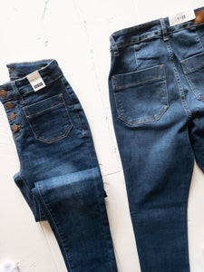 Patch Pocket Skinnies