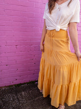 Load image into Gallery viewer, Boho Tiered Maxi Skirts
