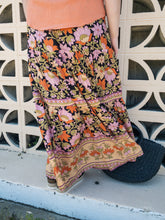 Load image into Gallery viewer, Ruthie Hippie Maxi Skirt