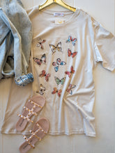 Load image into Gallery viewer, Plus Allover Butterflies Tee
