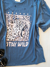 Load image into Gallery viewer, Plus Stay Wild Cheetah Tee