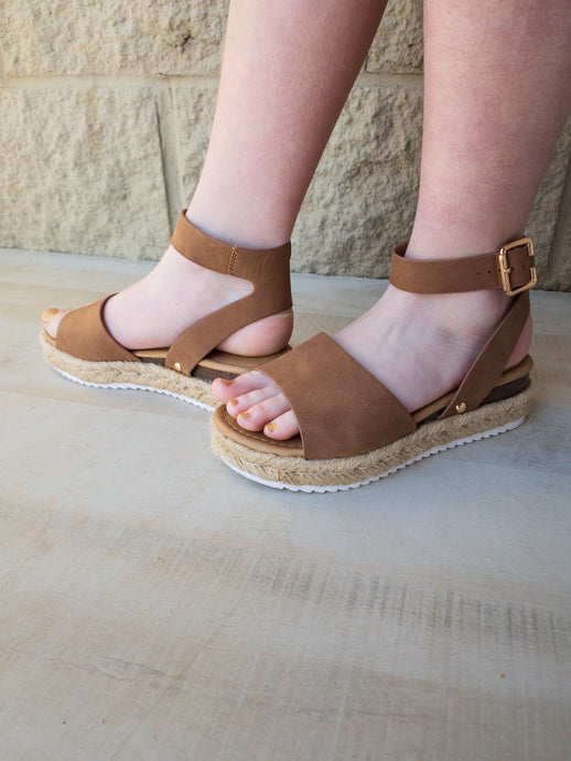 Girls Candide Espadrille Sandals