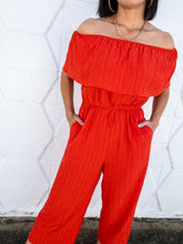 Load image into Gallery viewer, Flame Ankle Length Jumpsuit