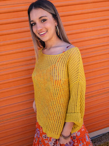 Kiwi Threaded Sweater