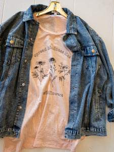 Plus Oversize Denim Jacket