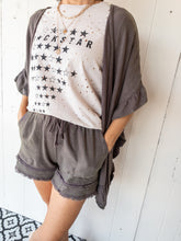 Load image into Gallery viewer, Ash Kimono and Shorts Set