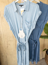 Load image into Gallery viewer, Stacy Staccato Denim Dresses