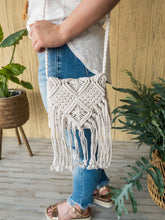 Load image into Gallery viewer, Marcee Macrame Crossbody