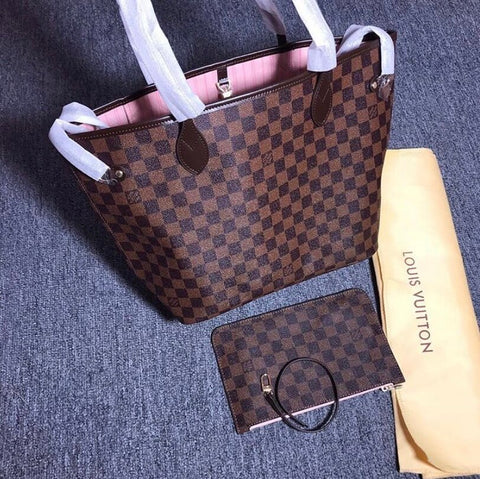 Louis Vuitton Rose Ballerine MM Neverfull