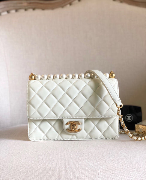 Chanel Pearl Flap