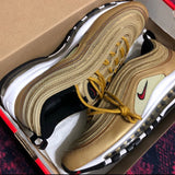 Nike Air Max 97's Metallic Gold