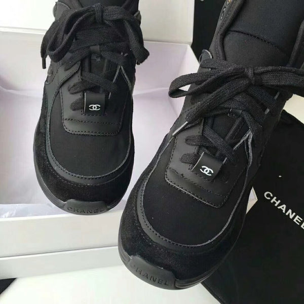 Chanel High Top -Black
