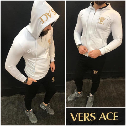 Versace Men's TrackSuit -White