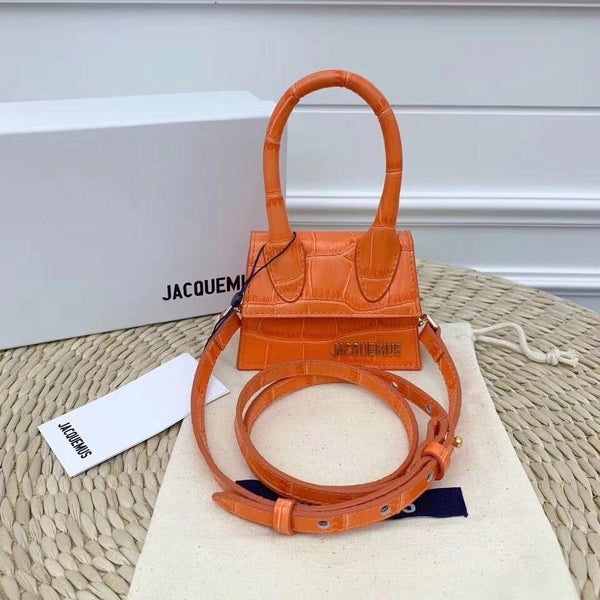 Jacquemus Mini Purse-Orange