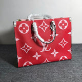 Louis Vuitton Neverfull Monogram Giant MM Red/Pink