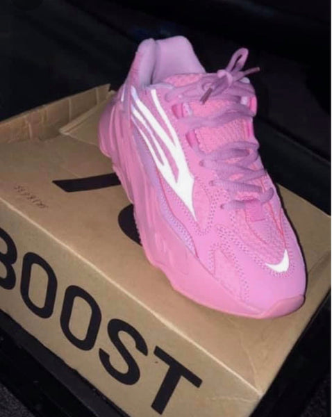 Yeezy 700 Static Boost Sneakers - Pink