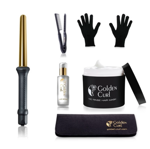 Golden Curl Luxury Curling Kit