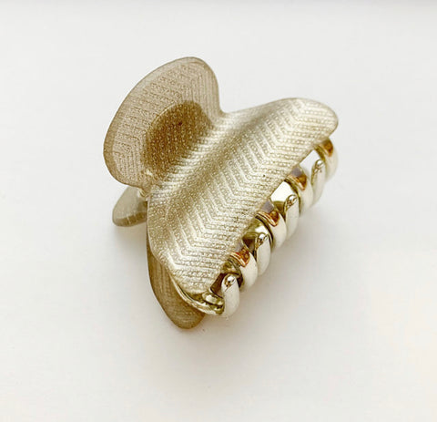 Hair Clip in Gold