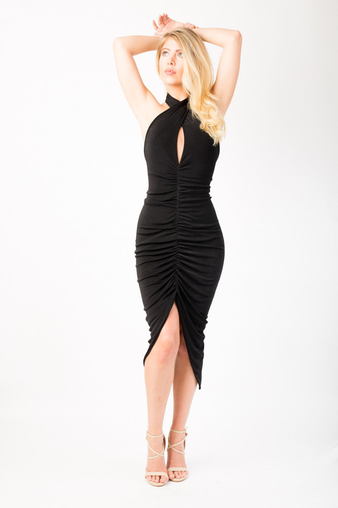 multiway dress, lbd, on trend, high fashion, on point,