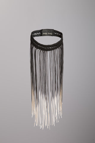 Cwtchy Cwtchy short Fringed necklace