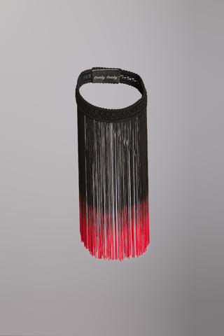 Cwtchy Cwtchy fringed necklace