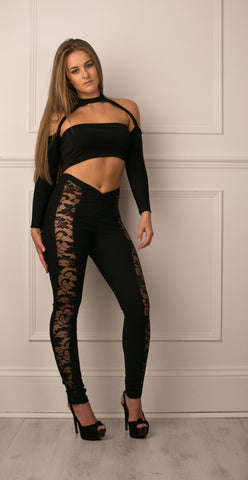 Lace Pannel Veggings