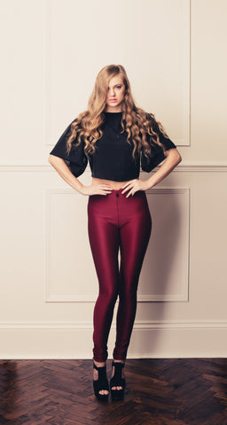 Burgundy Veggings™
