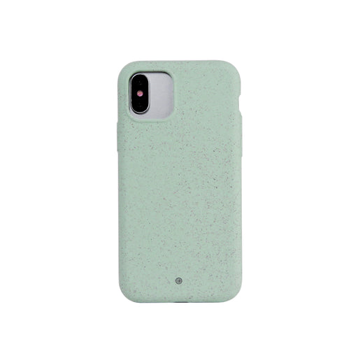 100 % Compostable Case for iPhone X/XS/11 Pro | Ocean Green