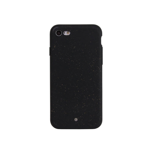 100 % Compostable Case for iPhone 7/8/SE | Outer Space Black