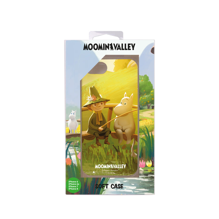 Moomin Valley Soft Case Moomin & Snufkin